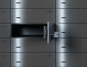 Empty Safe Deposit Box